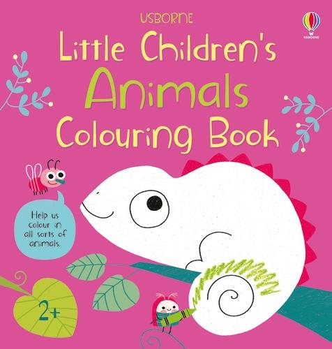 Little Children's Animals Colouring Book - Little Children's (Paperback)
