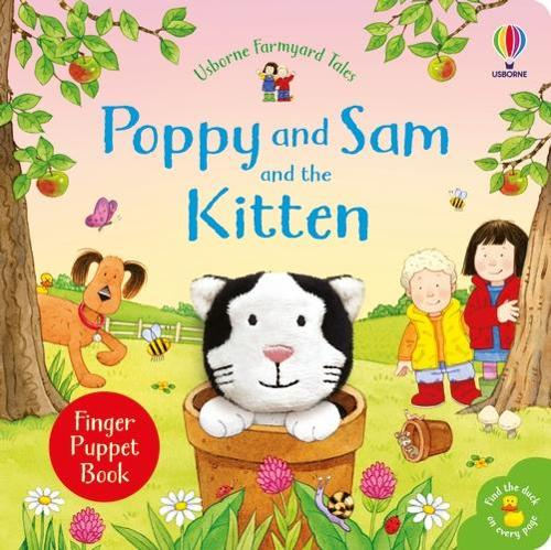 Poppy and Sam and the Kitten - Farmyard Tales Poppy and Sam (Board book)