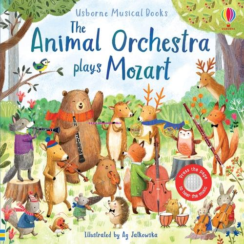 The Animal Orchestra Plays Mozart - Musical Books (Board book)