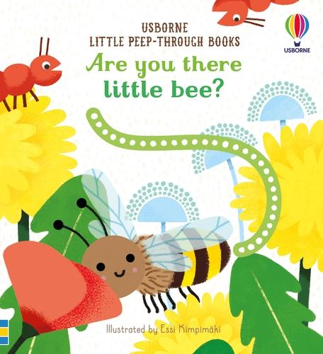 Are You There Little Bee? - Little Peep-Through Books (Board book)