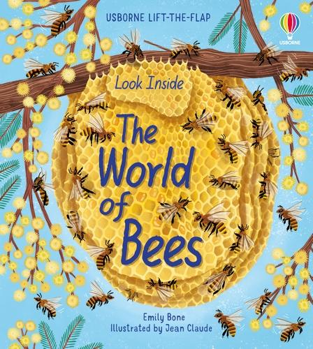 Look Inside the World of Bees - Look Inside (Board book)