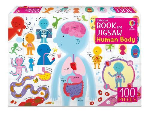 Usborne Book and Jigsaw Human Body - Usborne Book and Jigsaw (Paperback)