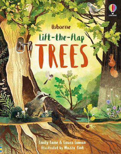 Lift-the-Flap Trees - Lift-the-flap (Board book)