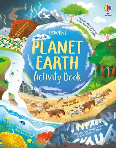 Planet Earth Activity Book - Activity Book (Paperback)