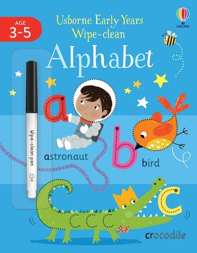 Early Years Wipe-Clean Alphabet - Usborne Early Years Wipe-clean (Paperback)