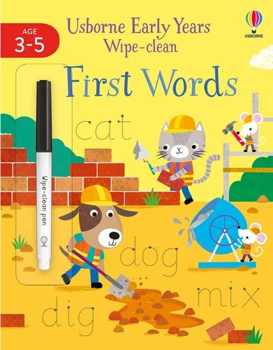 Early Years Wipe-Clean First Words - Usborne Early Years Wipe-clean (Paperback)