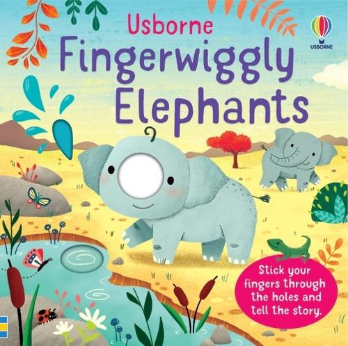 Fingerwiggly Elephants - Fingerwiggles (Board book)