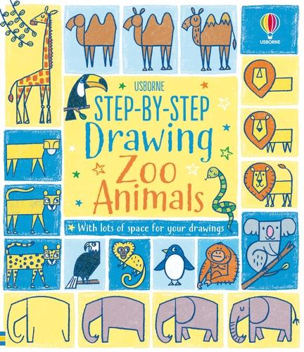 Step-by-step Drawing Zoo Animals - Step-by-Step Drawing (Paperback)