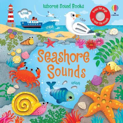 Seashore Sounds - Sound Books (Board book)