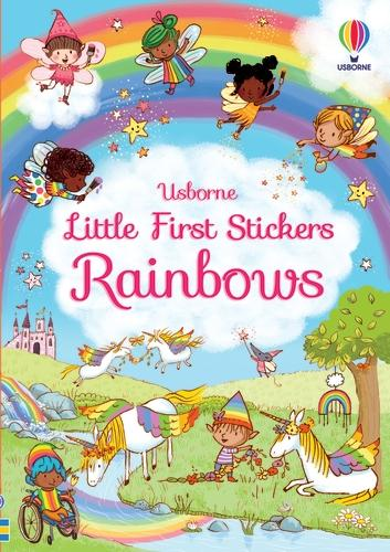 Little First Stickers Rainbows - Little First Stickers (Paperback)