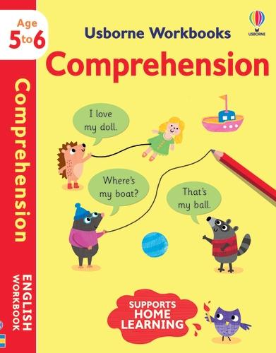 Usborne Workbooks Comprehension 5-6 - Usborne Workbooks (Paperback)
