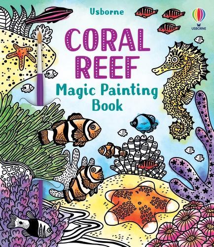 Coral Reef Magic Painting Book - Magic Painting Books (Paperback)