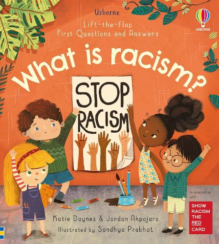 First Questions and Answers: What is racism? (Board book)