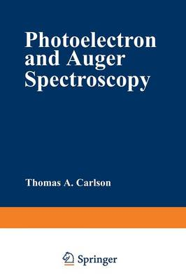 Photoelectron and Auger Spectroscopy - Modern Analytical Chemistry (Paperback)