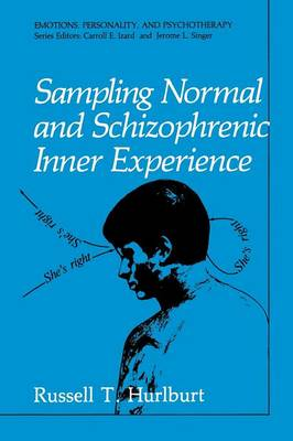 Sampling Normal and Schizophrenic Inner Experience - Emotions, Personality, and Psychotherapy (Paperback)