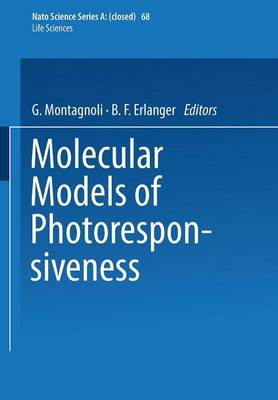 Molecular Models of Photoresponsiveness - NATO Science Series A 68 (Paperback)