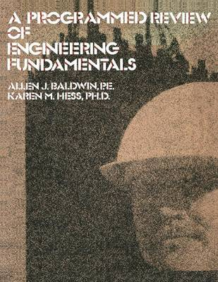 A Programmed Review Of Engineering Fundamentals (Paperback)