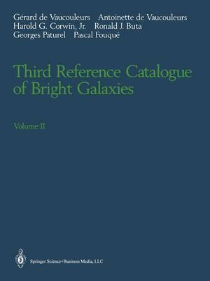 Third Reference Catalogue of Bright Galaxies: Volume II (Paperback)