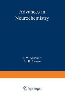 Advances in Neurochemistry (Paperback)