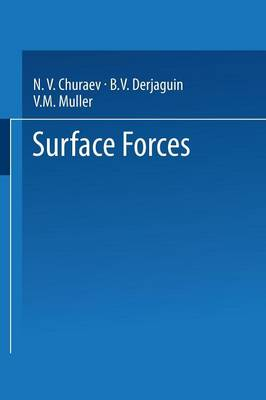 Surface Forces (Paperback)