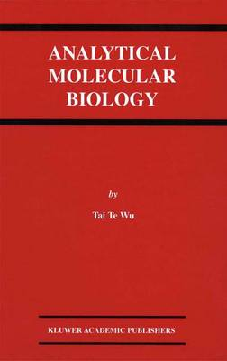 Analytical Molecular Biology (Paperback)