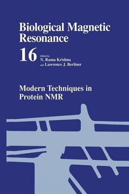 Modern Techniques in Protein NMR - Biological Magnetic Resonance 16 (Paperback)