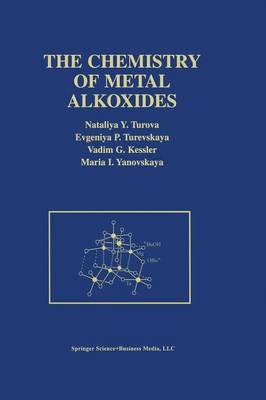 The Chemistry of Metal Alkoxides (Paperback)