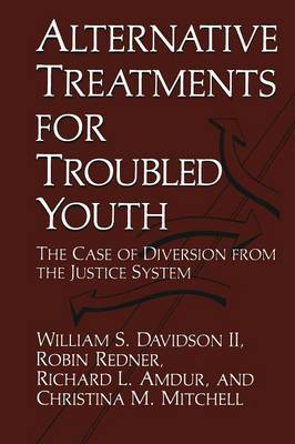 Alternative Treatments for Troubled Youth: The Case of Diversion from the Justice System (Paperback)