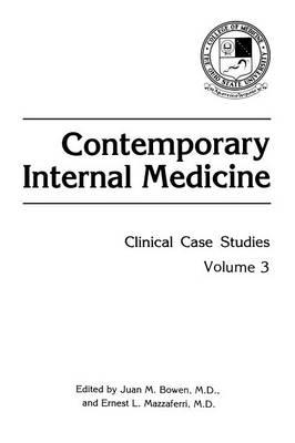 Contemporary Internal Medicine: Clinical Case Studies - Contemporary Internal Medicine 3 (Paperback)