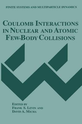Coulomb Interactions in Nuclear and Atomic Few-Body Collisions - Finite Systems and Multiparticle Dynamics (Paperback)