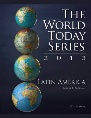 Latin America 2013 - World Today (Stryker) (Paperback)