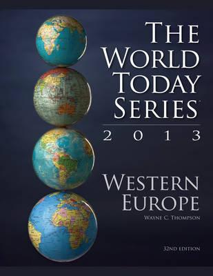 Western Europe 2013 - World Today (Stryker) (Paperback)