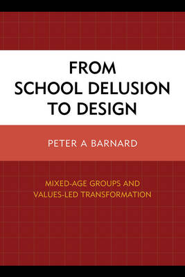 From School Delusion to Design: Mixed-Age Groups and Values-Led Transformation (Paperback)