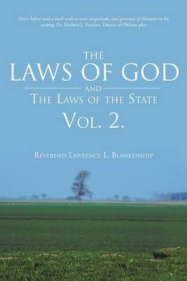 The Laws of God and the Laws of the State Vol. 2. (Paperback)