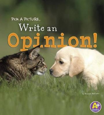 An Opinion - Pick a Picture, Write (Paperback)