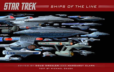 Ships of the Line - Star Trek (Hardback)