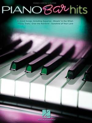 Piano Bar Hits: Piano-Vocal-Guitar (Paperback)