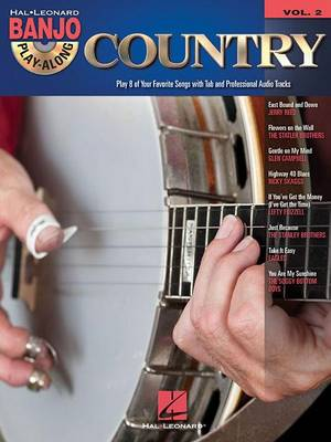 Banjo Play-Along Volume 2: Country (Paperback)