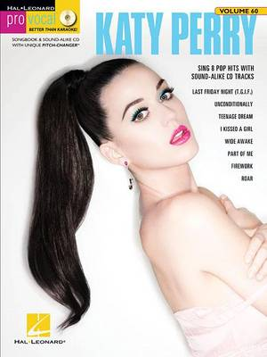 Pro Vocal Women's Edition Volume 60: Katy Perry (Book/CD) (Paperback)
