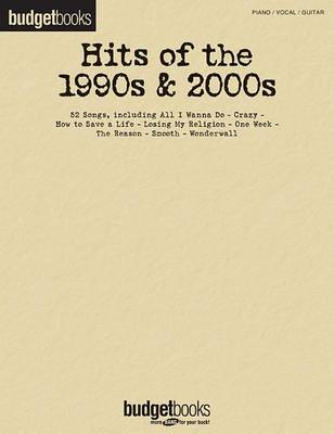 Hits of the 1990s & 2000s - Budget Books (Paperback)