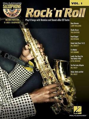 Saxophone Play-Along Volume 1: Rock 'N' Roll (Book/Online Audio) (Paperback)