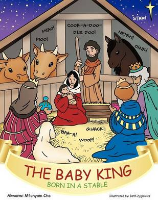 The Baby King: Born in a Stable (Paperback)