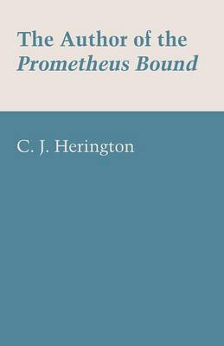 The Author of the Prometheus Bound (Paperback)