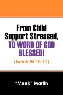 From Child Support Stressed, To Word Of GOD Blessed!: (Isaiah 55:10-11) (Paperback)