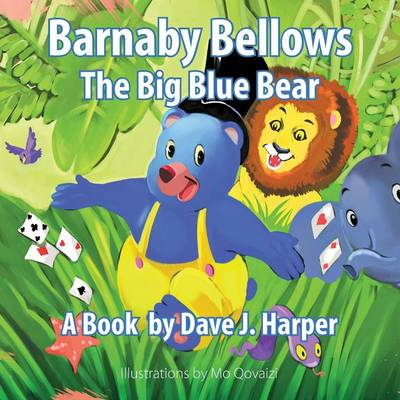 Barnaby Bellows the Big Blue Bear (Paperback)