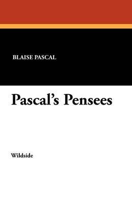 Pascal's Pensees (Paperback)