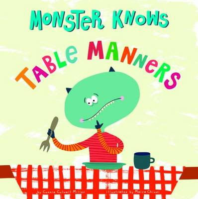 Table Manners - Monster Knows (Board book)