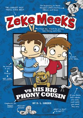 Zeke Meeks vs. His Big Phony Cousin (Paperback)