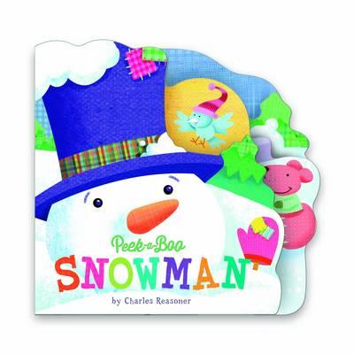 Snowman (Large) - Peek a Boo (Board book)