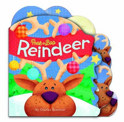 Reindeer (Mini) - Peek a Boo (Board book)